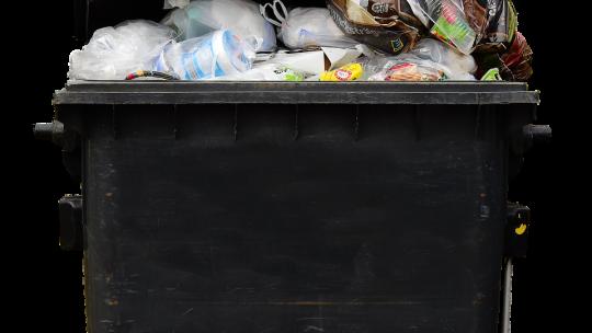 Help ik hebgeen restafval container