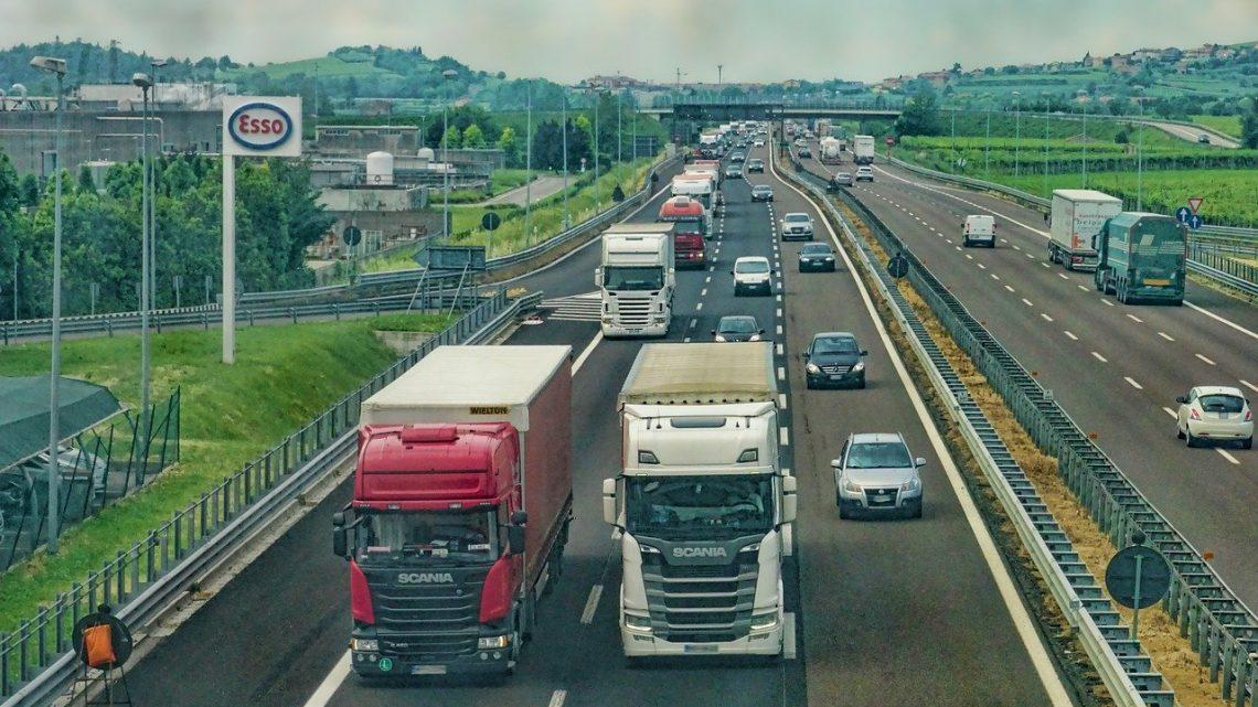 Transport over de weg